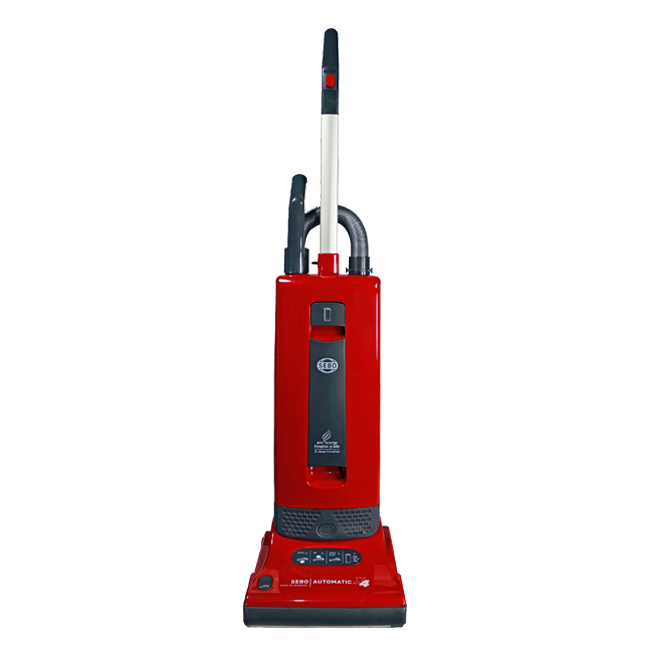 Image result for Sebo Automatic X4 Upright Vacuum Cleaner, Red 9558AM